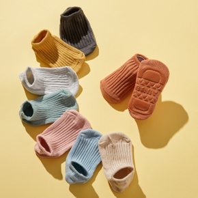 Baby / Toddler Solid Knitted Socks