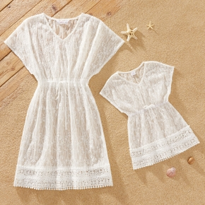 Casual Lace Cover Up for Mommy and Me