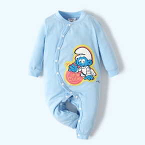 Smurfs Baby Boy Little Cutie Cotton Romper/One Piece
