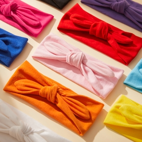 Baby / Toddler Girl Sweet Solid Bowknot Headband