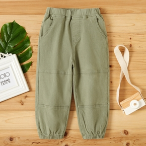 Toddler Boy Solid Pocket Casual Pants
