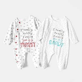 Baby Unisex casual Letter Jumpsuits