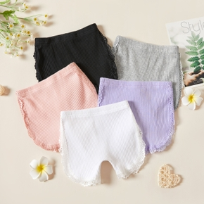 1pc Baby Girl Solid Cotton Summer Spring Baby Pants Shorts