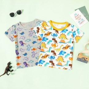 Dinosaur Allover Athleisure Tee for Toddlers/Kids