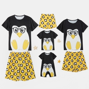 Penguin Print Family Matching Sets(Flame Resistant)
