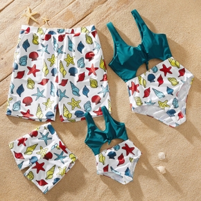 Print Family Look Matching Swimwear