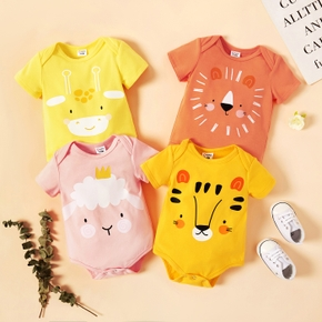 Baby Girl Sweet Animal Rompers