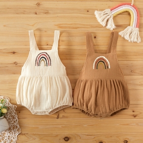 Baby Sweet Rainbow Strappy Romper