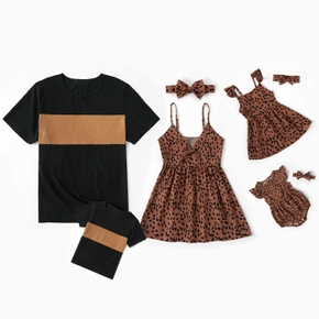 Family Look Cami Leopard Cami Matching Tops