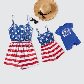 Independence Day Series Sling Rompers for Mommy and Me - Basic Baby Rompers