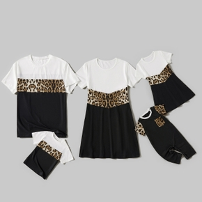 Leopard Splice Print Family Matching Sets