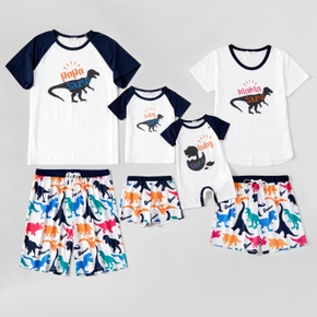 Dinosaur Print Family Matching Pajamas Sets