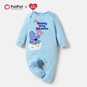 Care Bears Baby Boy Mommy's Valentine 100% Cotton One Piece