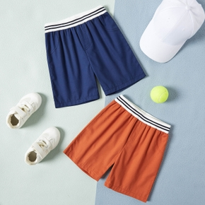 Solid Athleisure Shorts for Toddlers / Kids