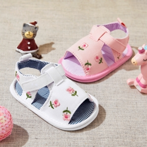 Baby / Toddler Floral Velcro Closure Sandals