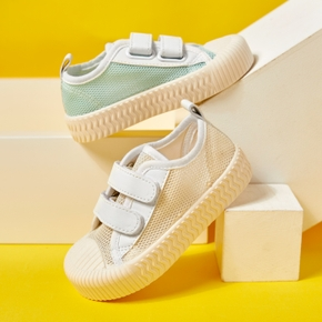 Toddler / Kid Mesh Breathable Velcro Closure Canvas Shoes
