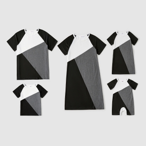Geometric Splice Family Matching Black and White Sets