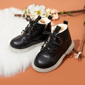 Toddler / Kid Solid Fleece-lining Boots