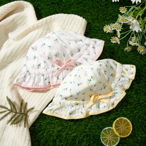 Baby Floral Allover Sun Protection Hat