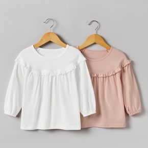 Baby / Toddler Casual Solid Long-sleeve Shirt