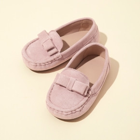 Toddler / Kid Solid Bow Decor Shoes