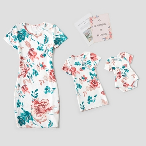 Familien Outfits Blume