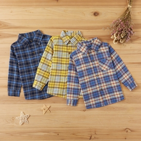 Baby / Toddler Plaid Long-sleeve Shirt