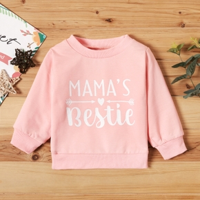 Baby Girl casual Letter Pullovers & Hoodies