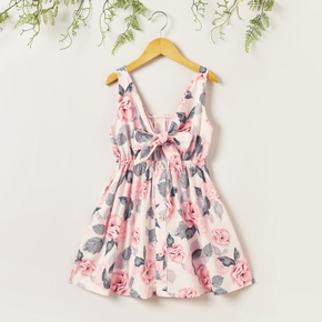1 pc Kid Girl Sweet Short-sleeve Bohemia Dress