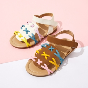 Toddler / Kid Colorful Velcro Closure Sandals