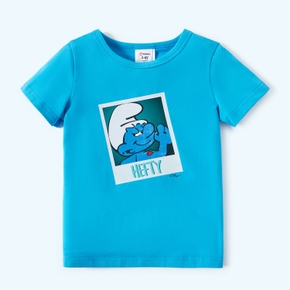 Smurfs Toddler Boy Hefty Cotton Tee