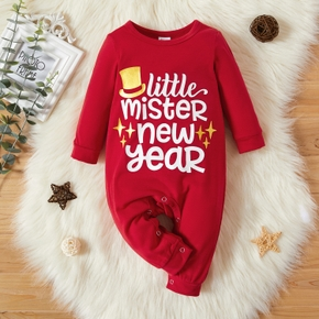 Baby Unisex New Year Jumpsuits