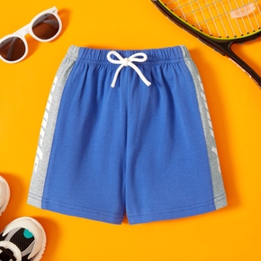 Toddler Boy Casual Letter Shorts