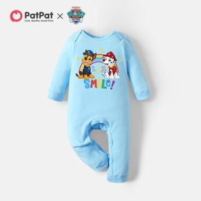 PAW Patrol Little Boy/Girl Rainbow and Smile Cotton Jumpsuit