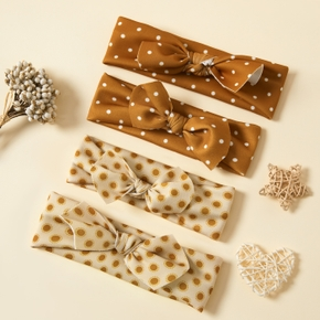 Polka Dot Bowknot Headbands for Mommy and Me