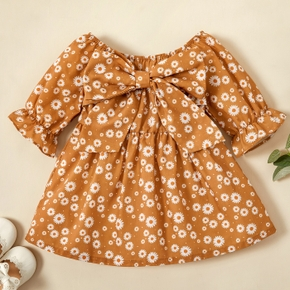 Baby Girl Floral Vacation Dress