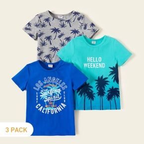 3-piece Kids Coconut Tree Tees Set