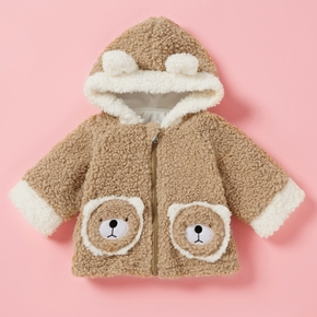 Baby Girl Raccoon Coat & Jacket