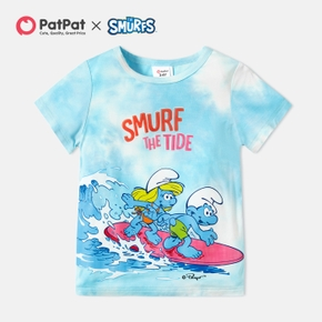 Smurfs Toddler Boy Smurf The Tide Rayon Tee