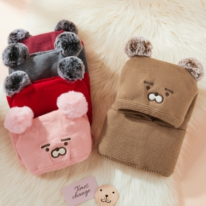 Baby / Toddler Pompon Cartoon Animal Hat