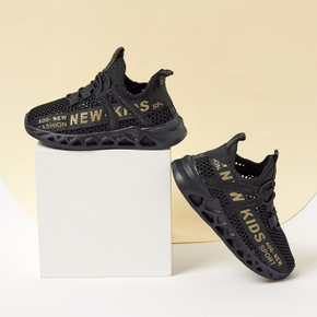 Kid Letter Breathable Sports Shoes