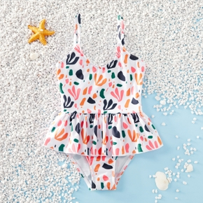 Baby / Toddler Girl Cutie Print Swimsuit