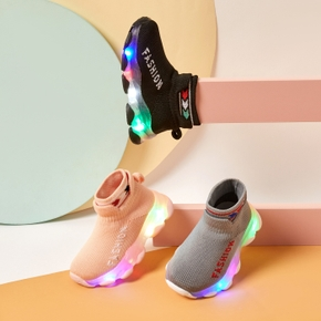 Toddler / Kid LED Fashion Breathable Sports Shoes