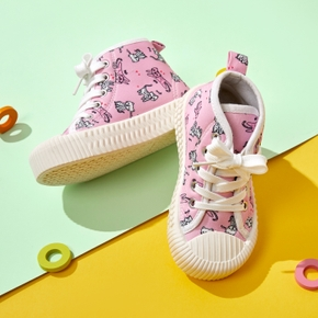 Toddler / Kid Cartoon Cat Canvas Shoes