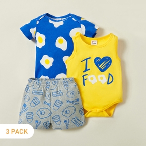3pcs Baby Boy casual Baby's Sets & Rompers & Bodysuits
