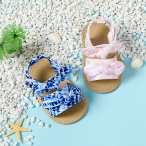 Baby / Toddler Bowknot Velcro Closure Prewalker Sandals