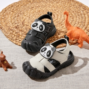 Toddler / Kid Cute Cartoon Panda Velcro Closure Sandals