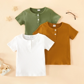 Toddler Casual Solid Tee