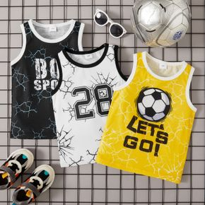 Toddler Boy Chic Letter Print Camisole