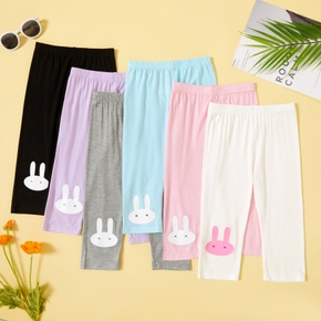 Toddler Girl Casual Lovely Rabbit Leggings